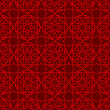 Seamless Chinese window tracery star line pattern background. Stock Photos
