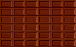 Seamless chocolate background Stock Photography