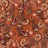 Seamless chocolate pattern Stock Images
