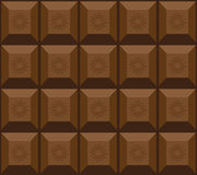 Seamless chokolate texture Stock Photography