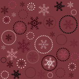 Seamless Christmas background Stock Photo