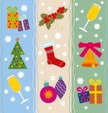 Seamless christmas background Stock Photo