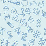 Seamless christmas background Royalty Free Stock Images