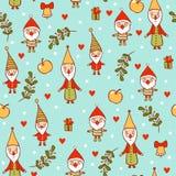 Seamless Christmas background. Stock Photo
