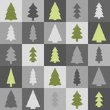 Seamless Christmas background Stock Images