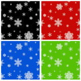 Seamless Christmas backgrounds Royalty Free Stock Photography