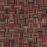 Seamless Christmas Color Straight Vertical and Horizontal Variable Width Stripes Stock Photo