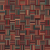 Seamless Christmas Color Straight Vertical and Horizontal Variable Width Stripes Royalty Free Stock Photography
