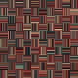 Seamless Christmas Color Straight Vertical and Horizontal Variable Width Stripes Royalty Free Stock Photos