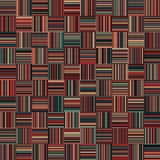 Seamless Christmas Color Straight Vertical and Horizontal Variable Width Stripes Royalty Free Stock Photo