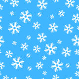 Seamless Christmas decoration snowflakes Royalty Free Stock Images