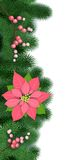 Seamless Christmas decoration Stock Images