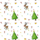 Seamless christmas design Royalty Free Stock Photography