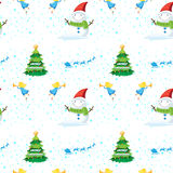 Seamless christmas design Royalty Free Stock Photo
