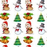 Seamless christmas Royalty Free Stock Photo