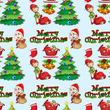 Seamless christmas Royalty Free Stock Images