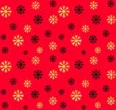 Seamless Christmas and New Year pattern.Vector abstract background with golden, black snowflakes. Seamless Christmas and New Year pattern.Vector abstract Royalty Free Stock Image