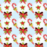Seamless Christmas pattern Royalty Free Stock Image