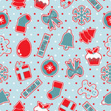 Seamless christmas pattern Royalty Free Stock Images