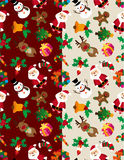 Seamless Christmas pattern Royalty Free Stock Photography
