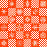 Seamless christmas pattern. Stock Images