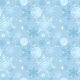 Seamless Christmas Pattern Stock Photography