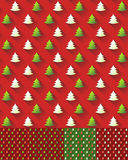 Seamless Christmas pattern Background Stock Photos