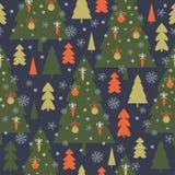 Seamless Christmas pattern, Royalty Free Stock Photography