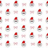 Seamless christmas pattern Stock Photo