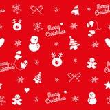 Seamless christmas pattern Stock Photos