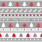 Seamless Christmas pattern3 Stock Image