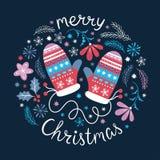Seamless Christmas pattern, Stock Photo