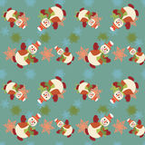 Seamless Christmas pattern - Illustration Royalty Free Stock Photos