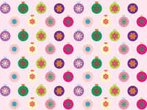 Seamless christmas pattern. In multicolour Stock Photo