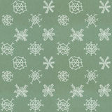 Seamless Christmas pattern. On paper texture royalty free illustration