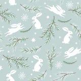 Seamless Christmas pattern Stock Photography