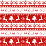Seamless Christmas pattern. Stock Image