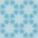Seamless Christmas pattern with snowflakes Royalty Free Stock Images