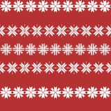 Seamless christmas pattern with snowflakes. traditional sweater pattern royalty free illustration