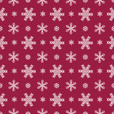 Seamless christmas pattern - snowflakes Stock Images
