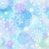 Seamless christmas pattern (vector) Stock Image