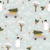 Seamless christmas pattern Royalty Free Stock Photos