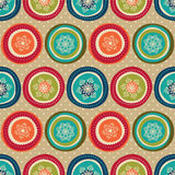Seamless christmas pattern Stock Photo