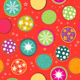Seamless Christmas pattern, vector Royalty Free Stock Photography