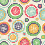 Seamless christmas pattern. Vector illustration royalty free illustration