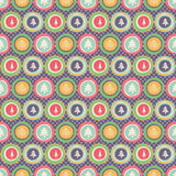 Seamless christmas pattern. Vector illustration stock illustration