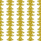 Seamless Christmas patterns. Vector design for the winter holidays.  Royalty Free Stock Photos
