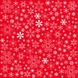 Seamless Christmas Red Background Royalty Free Stock Image