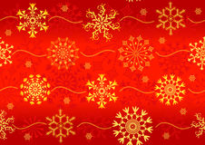 Seamless christmas red pattern Stock Photos