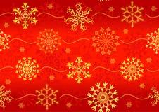 Seamless christmas red pattern Stock Photos